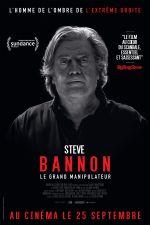Affiche Steve Bannon - Le Grand Manipulateur