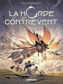 Couverture L'Escadre frêle - La Horde du Contrevent, tome 2