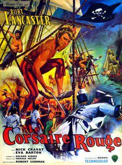 Affiche Le Corsaire rouge