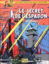 Couverture Le Secret de l'Espadon, intégrale