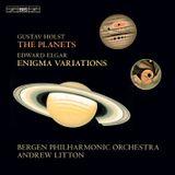 Pochette Holst: The Planets / Elgar: Enigma Variations