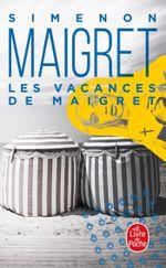 Couverture Les Vacances de Maigret