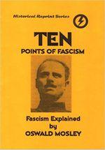 Couverture Ten points of fascism