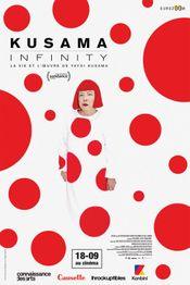 Affiche Kusama - Infinity (La vie et l'oeuvre de Yayoi Kusama)