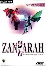 Jaquette Zanzarah : La Légende des deux mondes