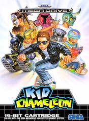 Jaquette Kid Chameleon