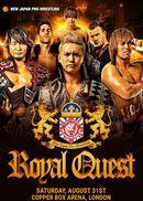 Affiche NJPW Royal Quest