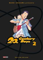Couverture 20th Century Boys (Édition deluxe), tome 2