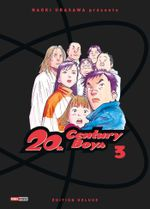 Couverture 20th Century Boys (Édition deluxe), tome 3