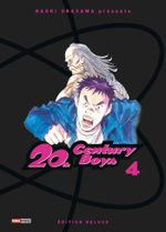Couverture 20th Century Boys (Édition deluxe), tome 4