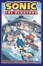 Couverture La Bataille pour Angel Island - Sonic the Hedgehog, tome 3