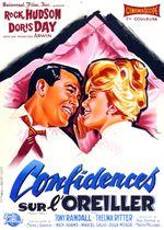 Affiche Confidences sur l'oreiller