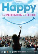 Affiche Happy, la Méditation à l'école
