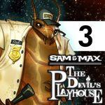 Jaquette Sam & Max : Episode 3x03 - They Stole Max's Brain !