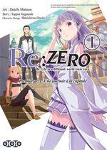 Couverture Re:Zero : Premier arc : Une journée à la capitale, tome 1