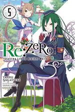 Couverture Re:Zero, tome 5