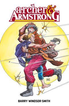Couverture Archer & Armstrong par Barry Windsor-Smith
