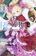 Couverture Re:Zero, tome 3