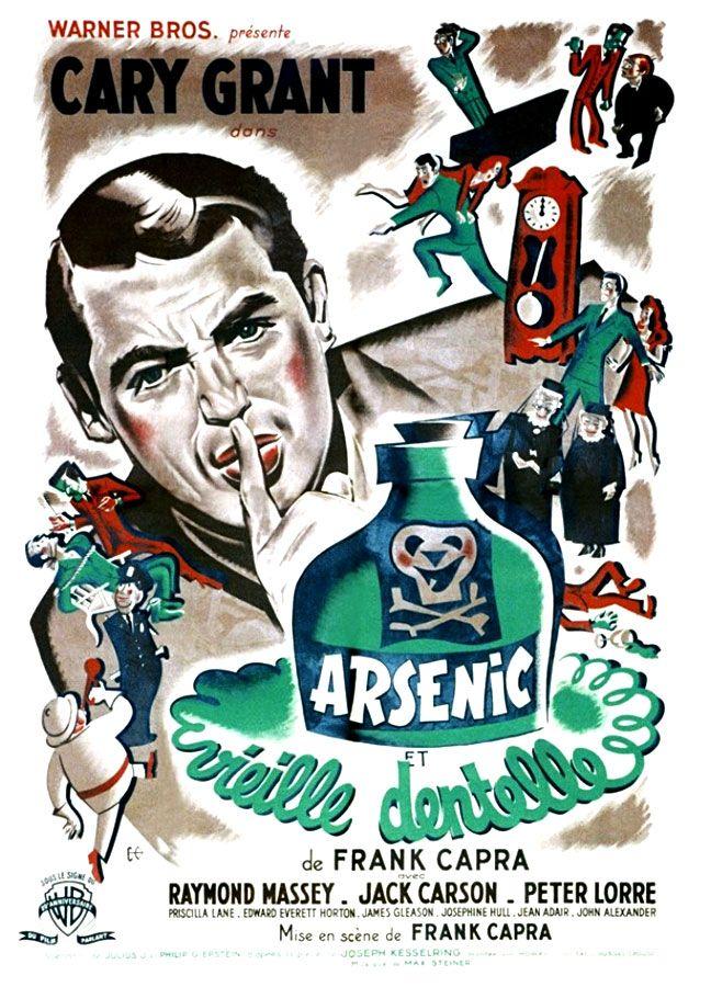 Arsenic Et Vieilles Dentelles Film 1944 Senscritique