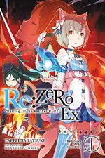 Couverture The Dream of the Lion King - Re:Zero Ex, tome 1