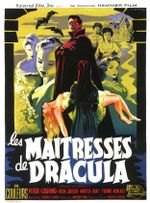 Affiche Les Maîtresses de Dracula