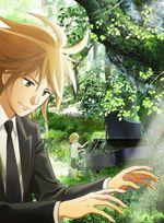 Affiche Le piano dans la forêt