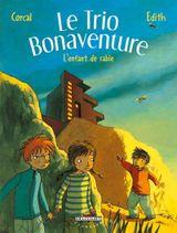 Couverture L'Enfant de sable - Le Trio Bonaventure, tome 3
