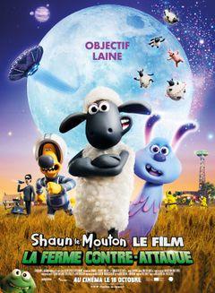 Affiche Shaun le Mouton, le film : La ferme contre-attaque