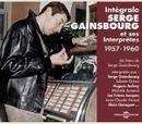 Pochette Intégrale Serge Gainsbourg et ses Interprètes 1957-1960