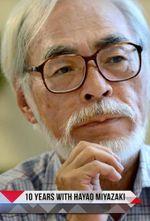 Affiche 10 ans avec Hayao Miyazaki