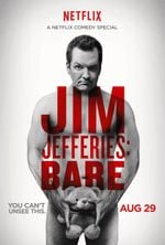 Affiche Jim Jefferies : BARE