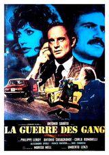 Affiche La guerre des gangs