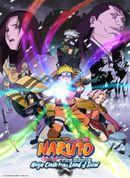 Affiche Naruto et la Princesse des neiges