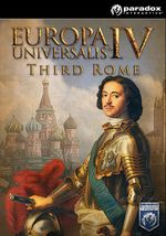 Jaquette Europa Universalis IV: Third Rome