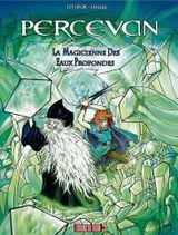 Couverture La Magicienne des eaux profondes - Percevan, tome 16