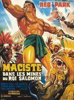 Affiche Maciste dans les mines du roi Salomon