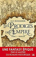 Couverture Les Prodiges de l'Empire
