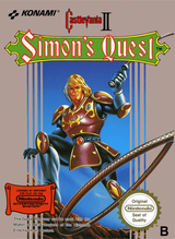 Jaquette Castlevania II: Simon's Quest
