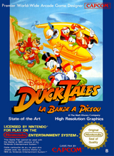 Jaquette DuckTales : La Bande à Picsou