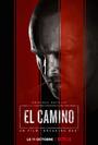 Affiche El Camino : Un film Breaking Bad
