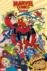 Couverture Marvel Comics #1000