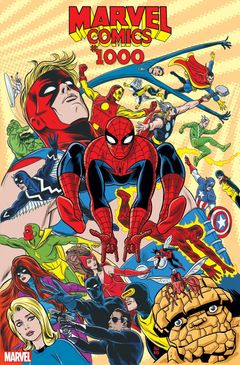 Couverture Marvel Comics #1000