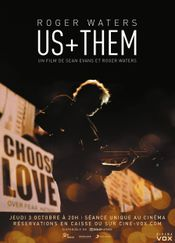 Affiche Roger Waters - Us + Them