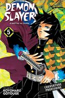 Couverture Demon Slayer, tome 5