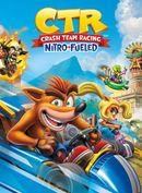 Jaquette Crash Team Racing Nitro-Fueled
