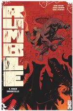 Couverture Chair immortelle - Rumble, tome 3