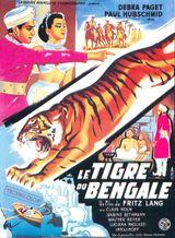 Affiche Le Tigre du Bengale