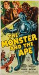 Affiche The Monster and the Ape