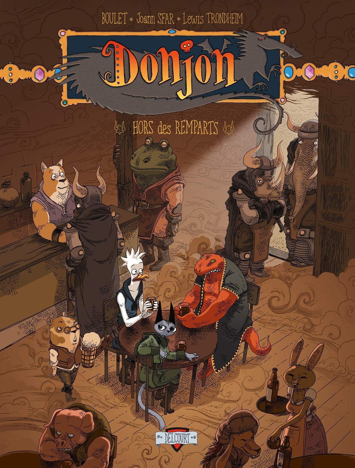 Sfar, Trondheim et leur Donjon - Page 2 Hors_des_remparts_Donjon_Zenith_tome_7