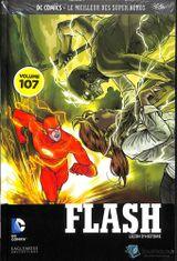 Couverture Flash : Leçon d'histoire - DC Comics, Le Meilleur des Super-Héros, tome 107